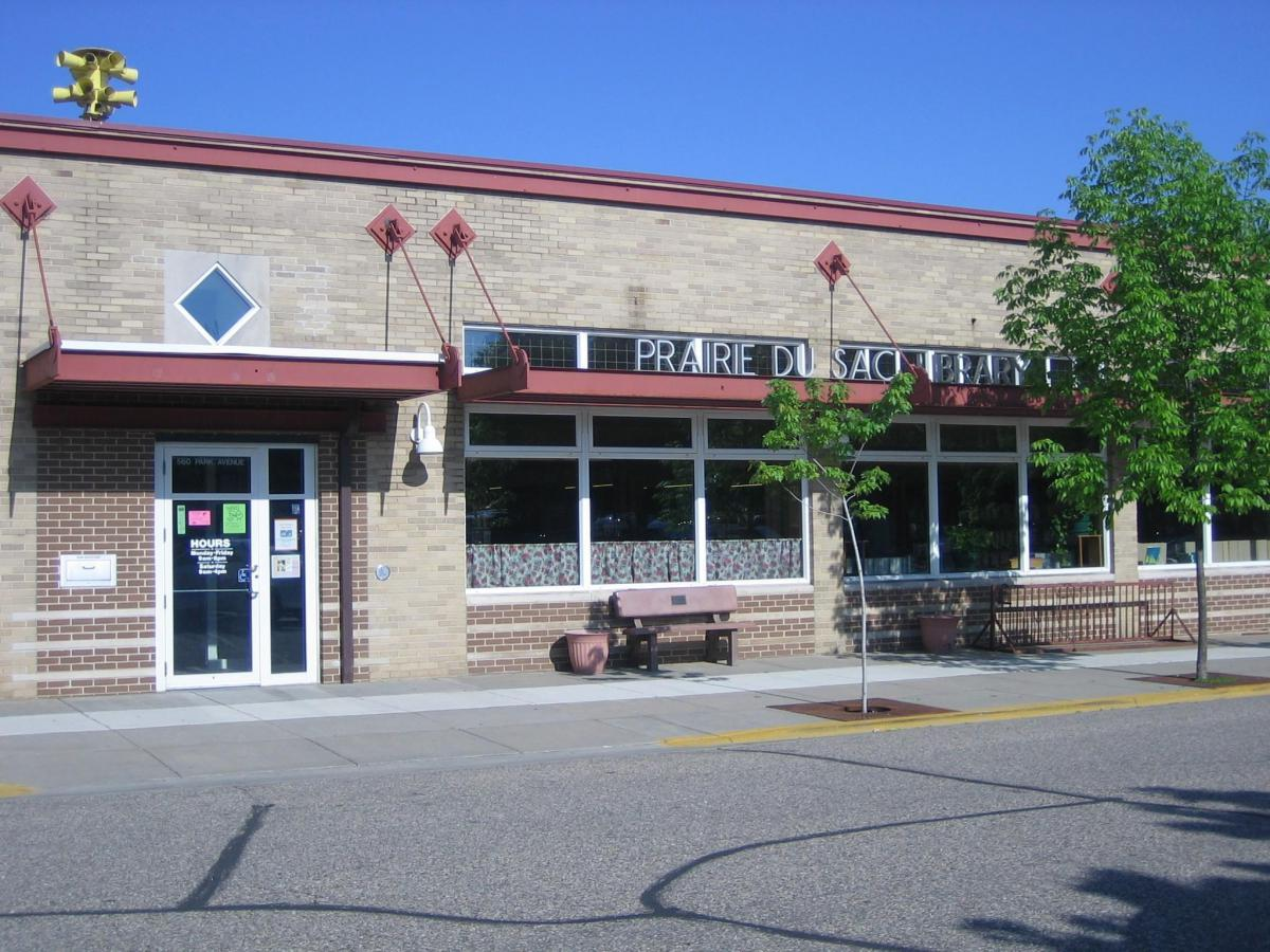 Prairie du Sac Library at 560 Park Ave.