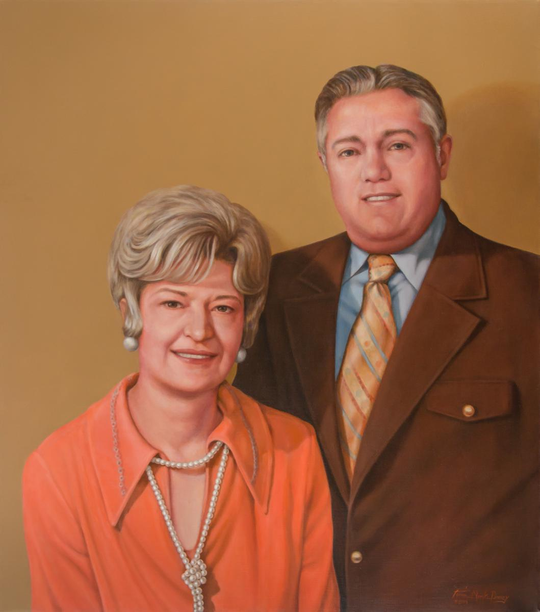 Ruth and George Culver Portrait